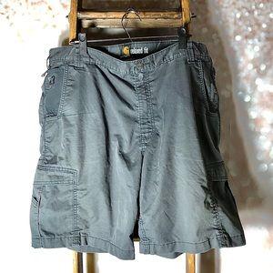 Carhartt Men's Relaxed Fit Grey Shorts